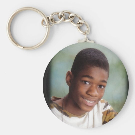 Miquan-Key Basic Round Button Key Ring