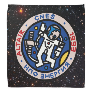Mir-Altair Mission Patch Logo Bandanas
