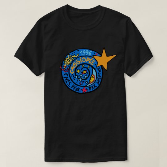 Mir-Cassiopee Mission Patch Logo T-Shirt