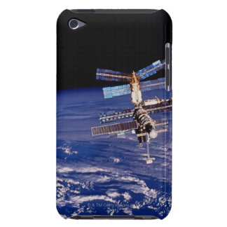 Mir Space Station floating above the Earth Barely There iPod Cover