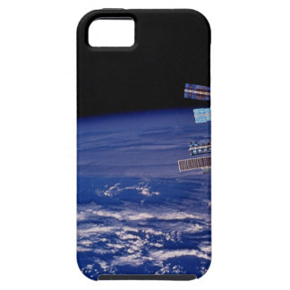 Mir Space Station floating above the Earth iPhone 5 Covers