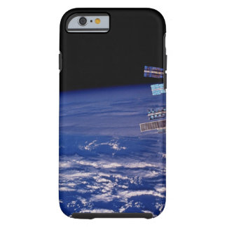 Mir Space Station floating above the Earth Tough iPhone 6 Case