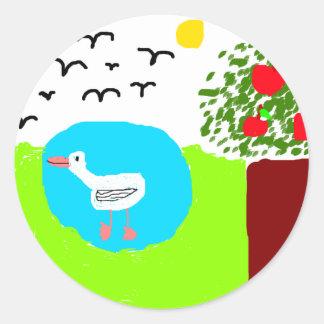 mira s summer sticker