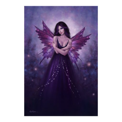 Mirabella Fairy Art Large Poster Print