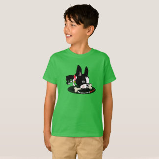 Mirabelle the boston terrier Give a dog a bone T-Shirt