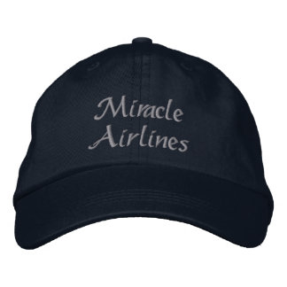 Miracle Airlines Embroidered Hat