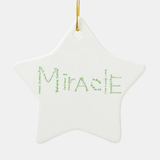 Miracle - Green - February s WoW Christmas Ornaments