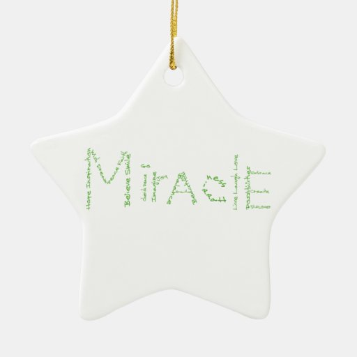 Miracle - Green - February's WoW Christmas Ornaments