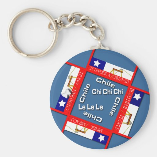 Miracle in Chile Key Chains
