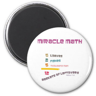Miracle Math Magnet