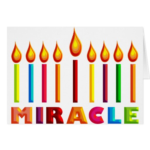 Miracle Note Card