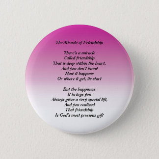 Miracle of Friendship poem button
