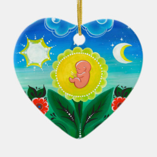 Miracle of Life Christmas Ornament