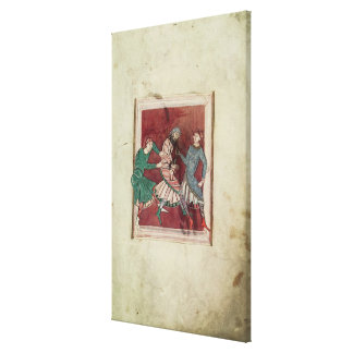 Miracle of St. Omer Canvas Print