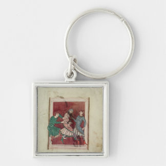 Miracle of St. Omer Key Ring