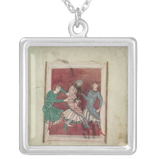 Miracle of St. Omer Silver Plated Necklace