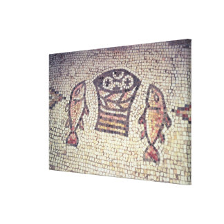 Miracle of the Bread and the Fishes Gallery Wrapped Canvas