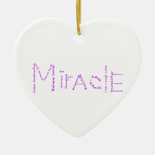 Miracle - Purple - February's WoW Ornaments