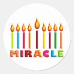 Miracle Round Sticker