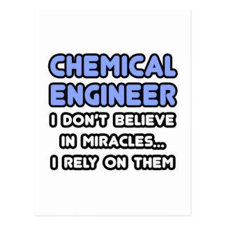 Miracles and Chemical Engineers Postcards