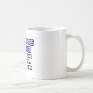 Miracles and Economics Teachers Basic White Mug