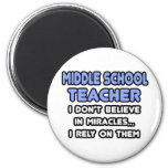 Miracles and Middle School Teachers