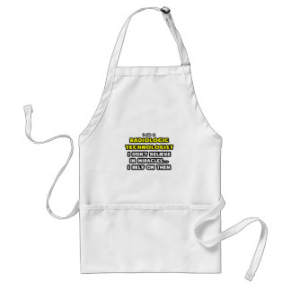 Miracles and Radiologic Technologists Funny Aprons