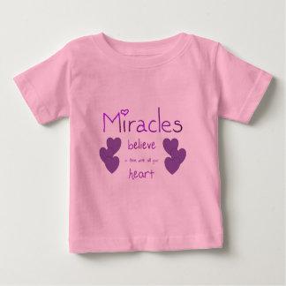 Miracles Baby T-Shirt