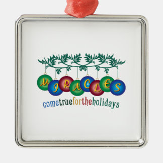 Miracles Come True Christmas Tree Ornaments