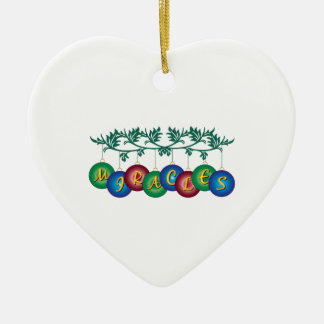 Miracles Christmas Tree Ornament