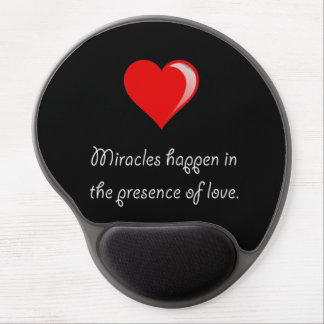 Miracles Love Gel Mouse Pad