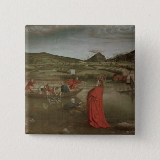 Miraculous Draught of Fishes 15 Cm Square Badge