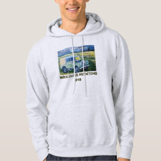 Miraculous Inventions 1948 Hooded Sweatshirt .