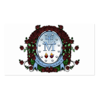 Miraculous Medal 2 Pack Of Standard Business Cards
