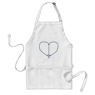 Miraculous Medal Rosary Aprons