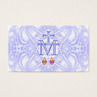 Miraculous Medallion Business Card