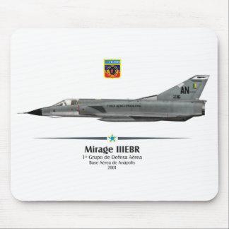 Mirage IIIEBR - Força Aérea Brasileira - FAB Mouse Pads
