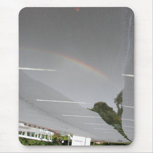 Mirage of Reflection Mouse Pad