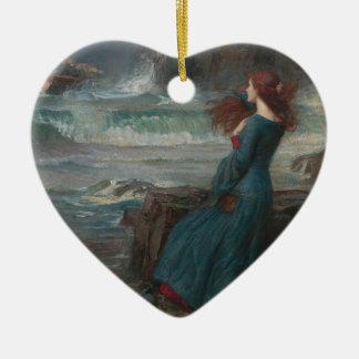 Miranda Ceramic Heart Decoration