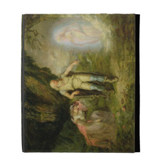 Miranda, Prospero and Ariel, from 'The Tempest' by iPad Case