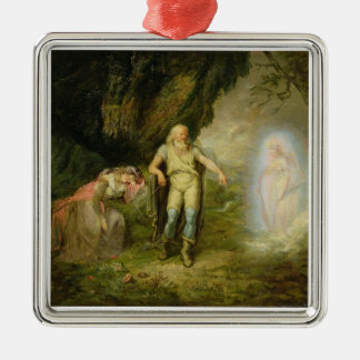 Miranda, Prospero and Ariel, from 'The Tempest' by Christmas Ornament