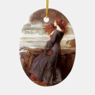 Miranda - The Tempest Ceramic Oval Decoration