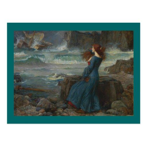 Miranda (The Tempest) Postcards