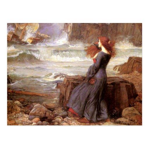 Miranda - The Tempest Post Cards