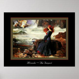 Miranda ~ The Tempest Poster
