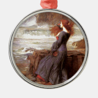 Miranda - The Tempest Silver-Colored Round Decoration
