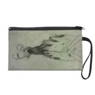Miri Girl art bag Wristlet