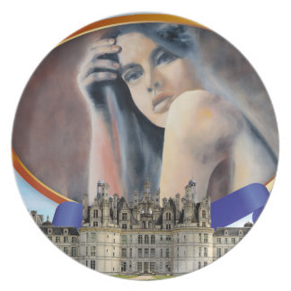 MIROR IN FRANCE PLATE