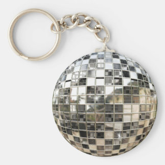 Mirror Ball Keychain