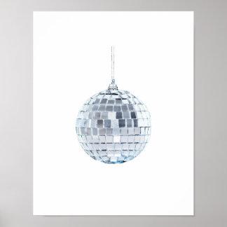Mirror Ball Ornament Poster